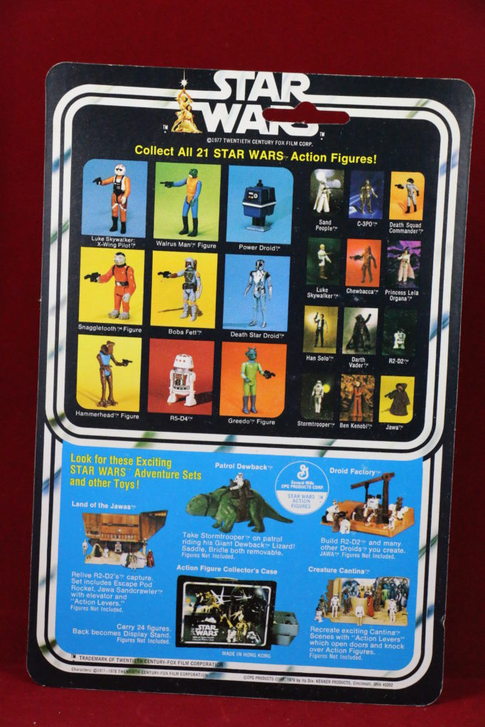 Kenner Star Wars Luke Skywalker X-Wing Pilot 21 Back B Back