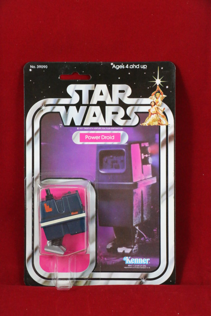 Kenner Star Wars Power Droid 21 Back A Front