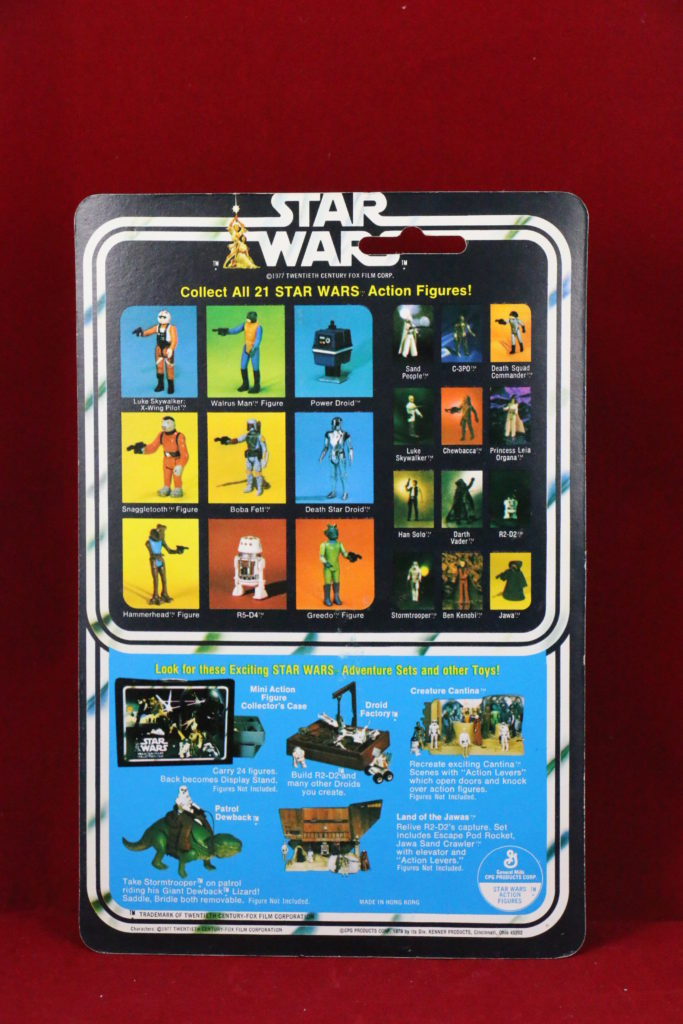 Kenner Star Wars Power Droid 21 Back A Back