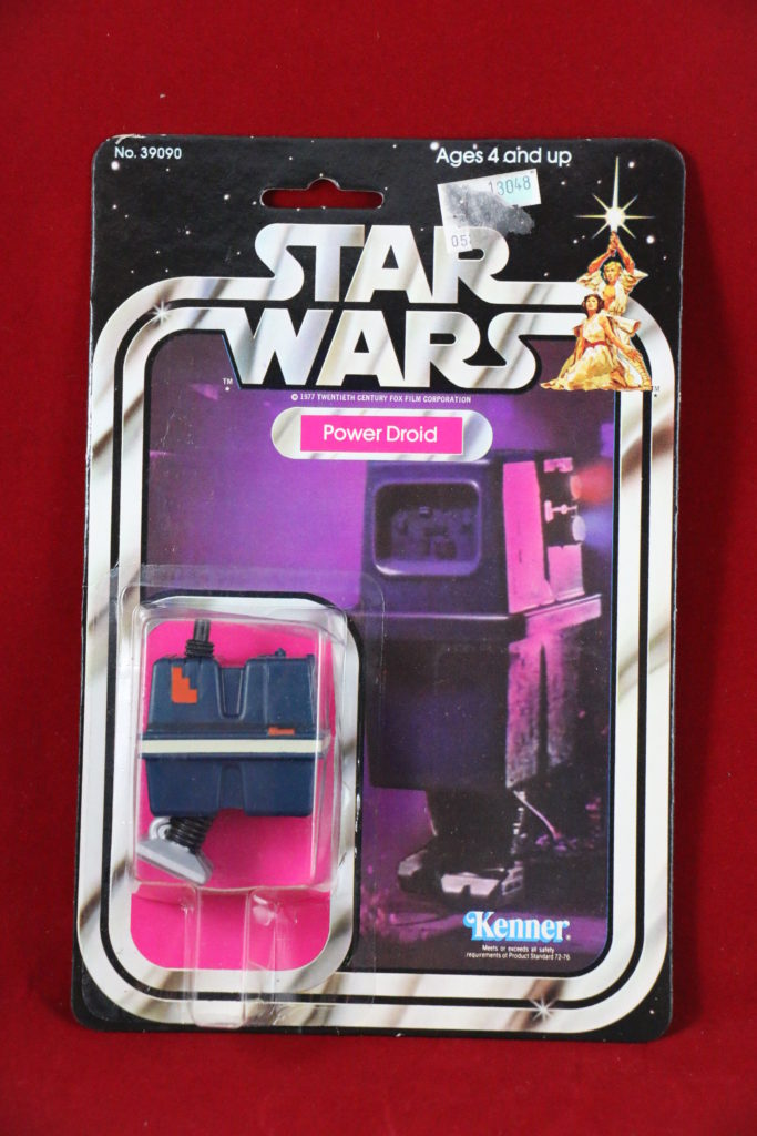 Kenner Star Wars Power Droid 21 Back B Front