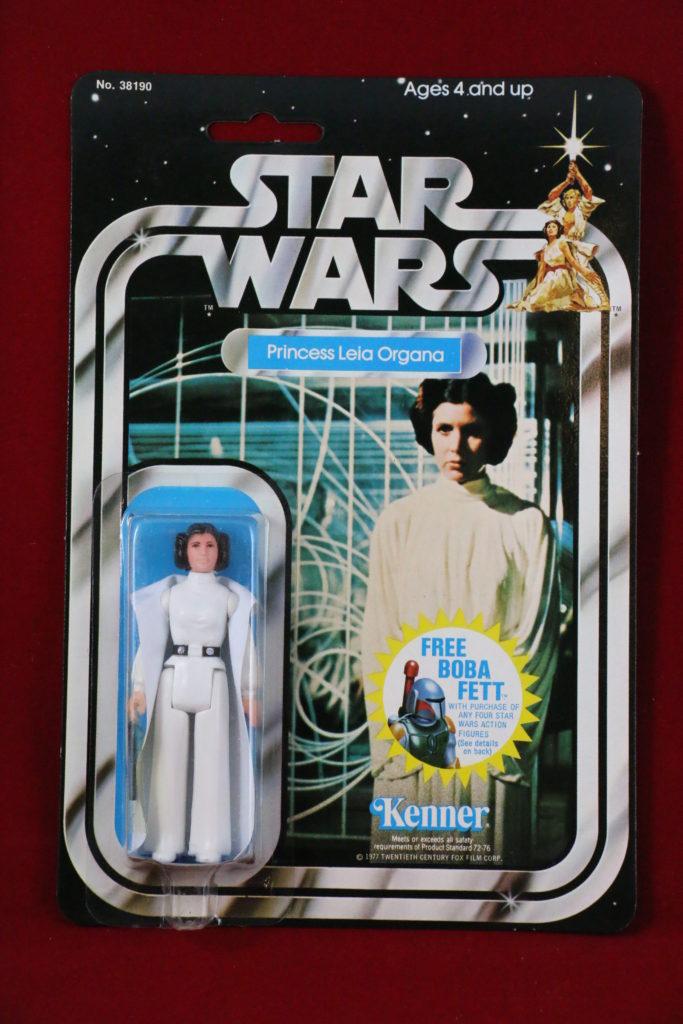 Kenner Star Wars Princess Leia 20 Back G Front