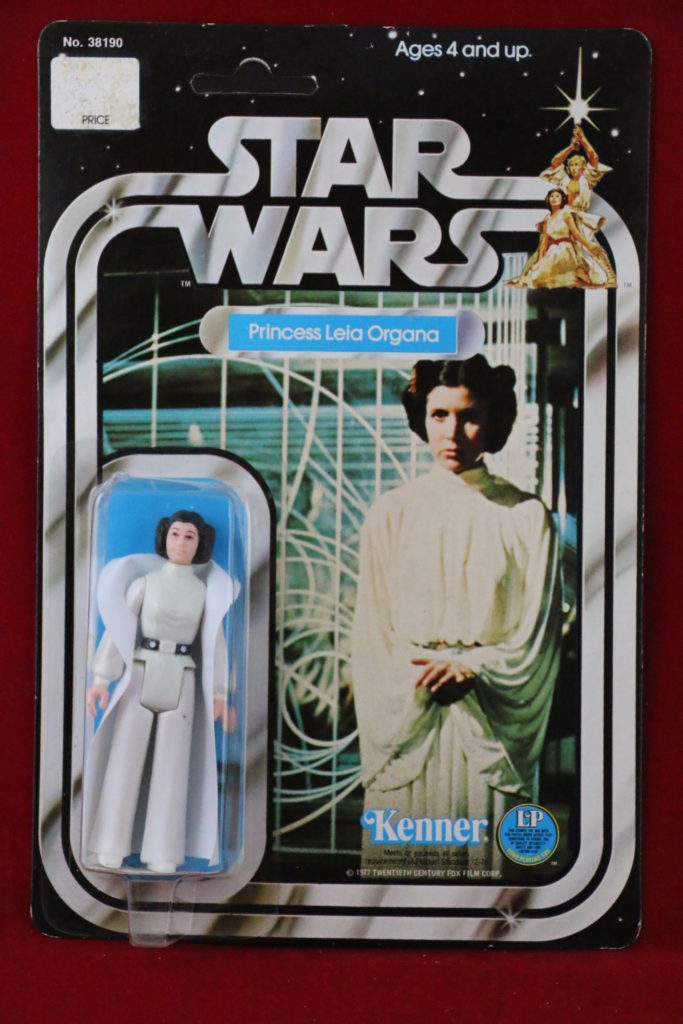 Kenner Star Wars Princess Leia White Footer 12 Back A Front