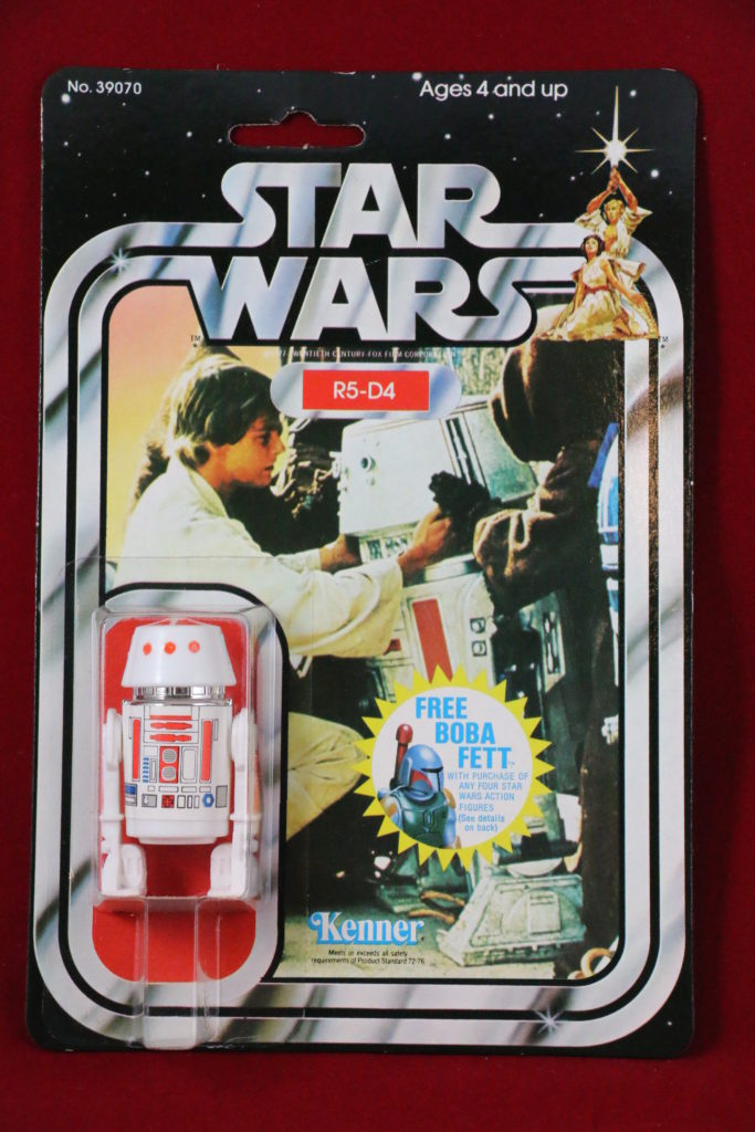 Kenner Star Wars R5-D4 20 Back F Front
