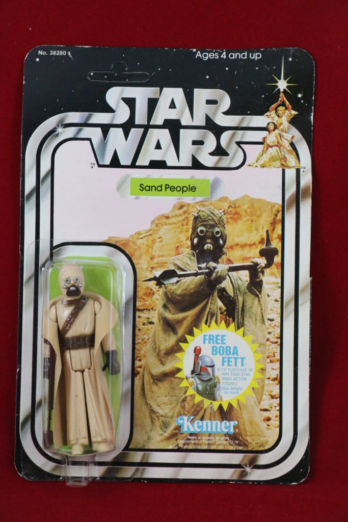 Kenner Star Wars Sand People 20 Back C Front
