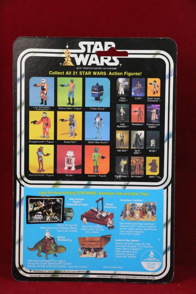 Kenner Star Wars Snaggletooth 21 Back A Back