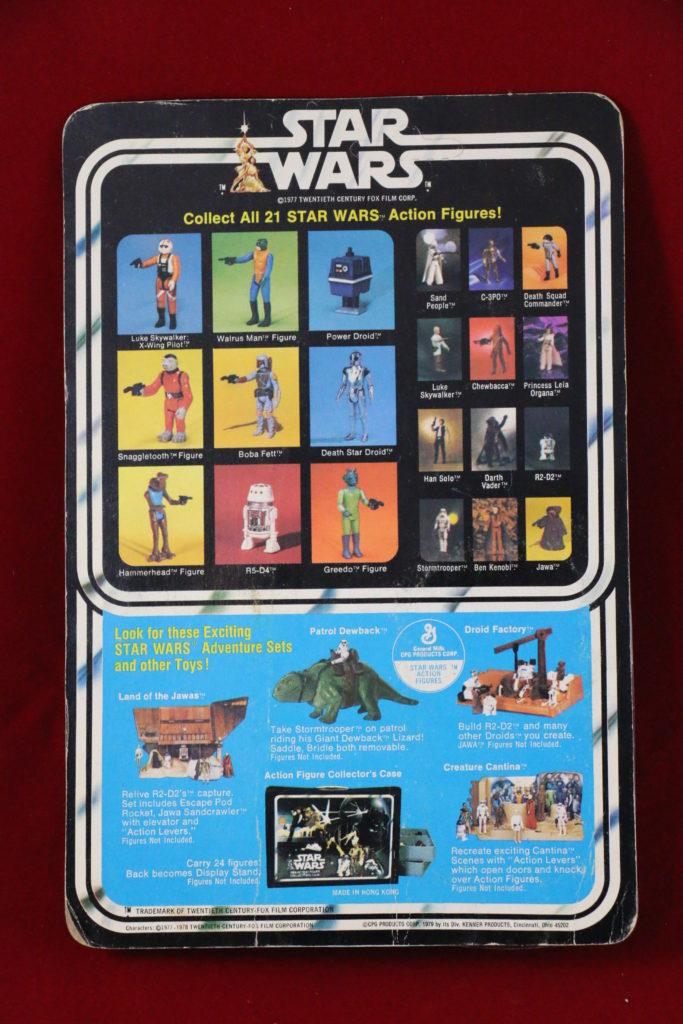 Kenner Star Wars Snaggletooth 21 Back B  Back