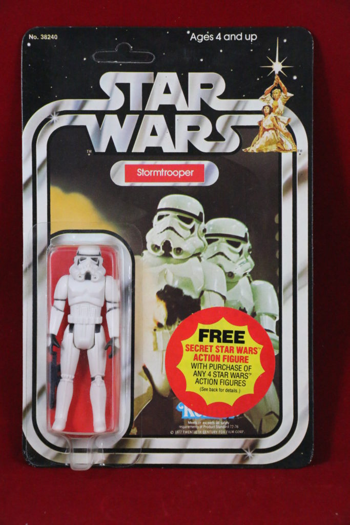 Kenner Star Wars Stormtrooper 20 Back I Front