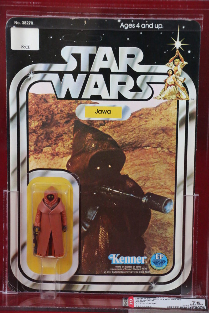 Kenner Star Wars Vinyl Cape Jawa 12 Back A Front