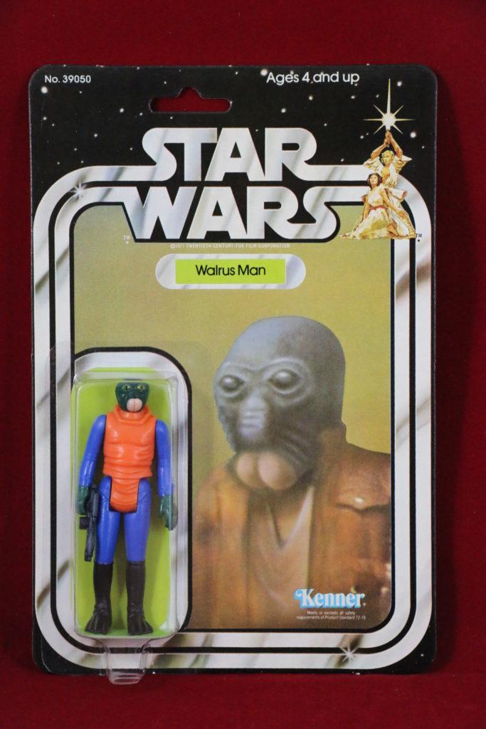 Kenner Star Wars Walrus Man 21 Back A Front