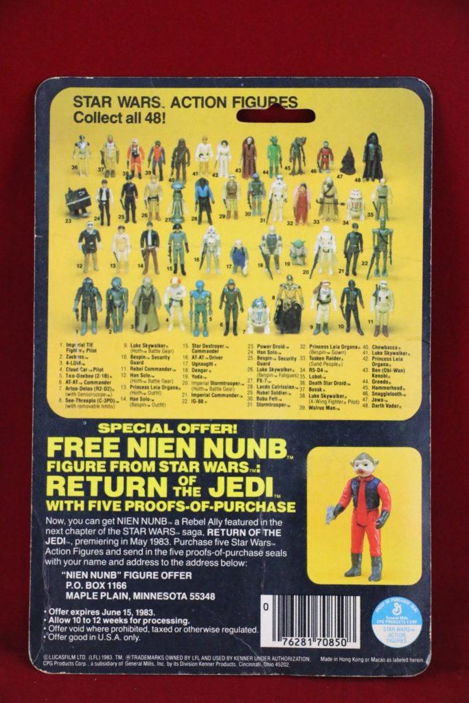ROTJ Kenner Star Wars Sand People 48 Back A Back