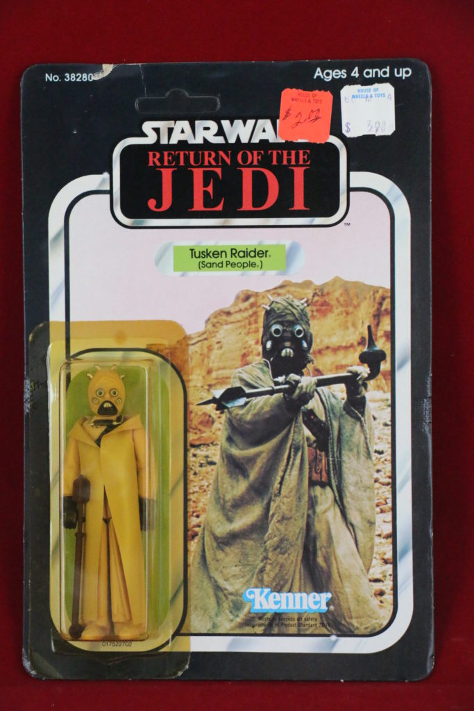 ROTJ Kenner Star Wars Sand People Hollow Cheeks 65 Back B Front