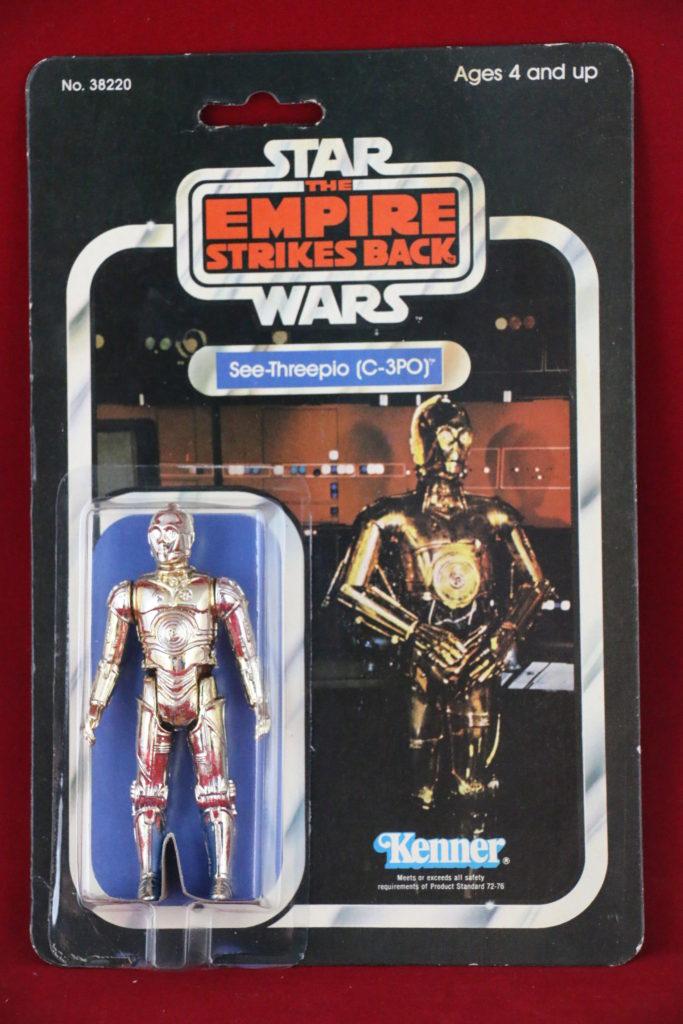 ESB Kenner Star Wars C-3PO 31 Back B Front