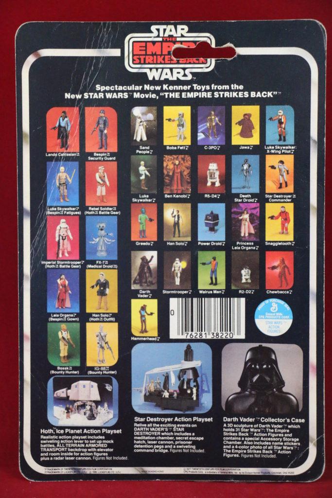 ESB Kenner Star Wars C-3PO 31 Back B Back