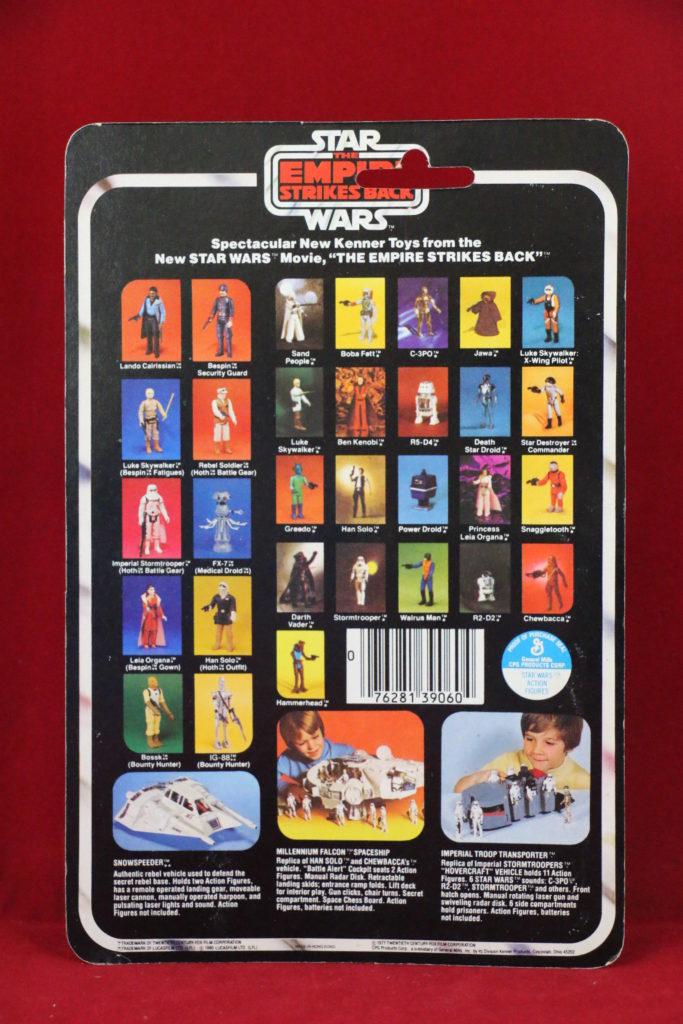 ESB Kenner Star Wars Luke Skywalker X-Wing 31 Back A Back
