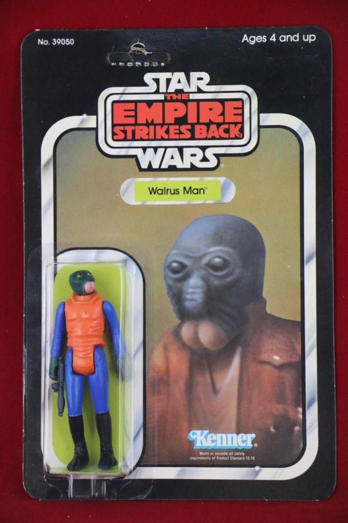 ESB Kenner Star Wars Walrus Man 31 Back B Front