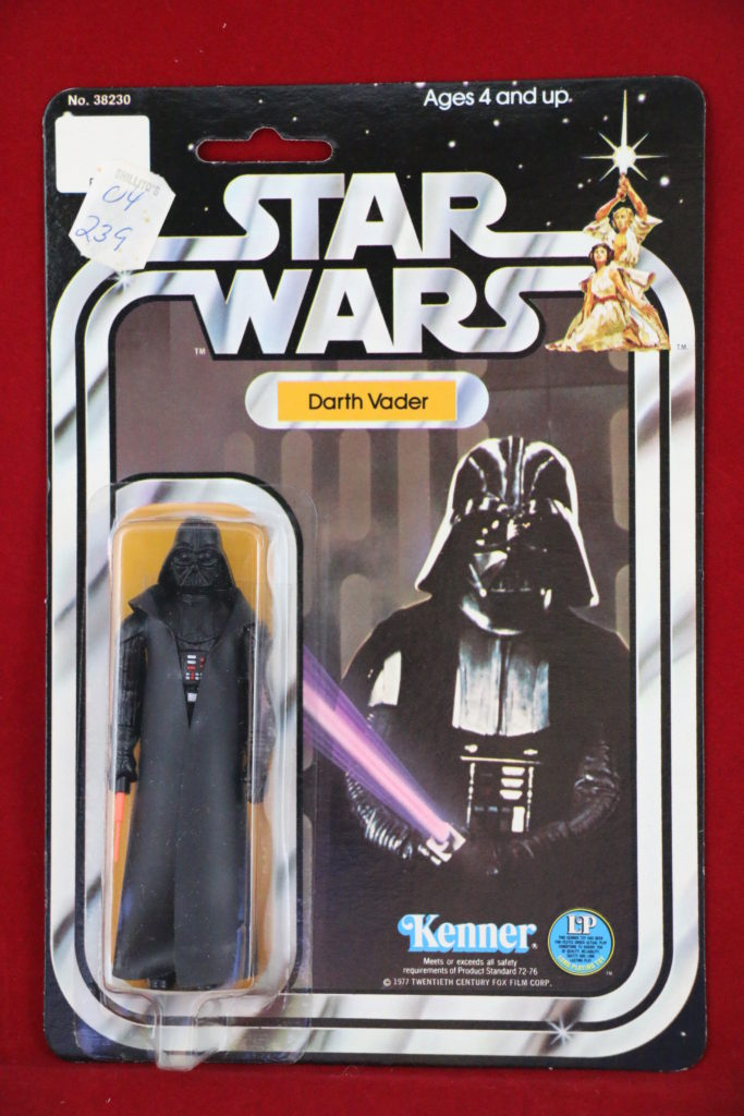 Kenner Star Wars Darth Vader 12 Back A Front