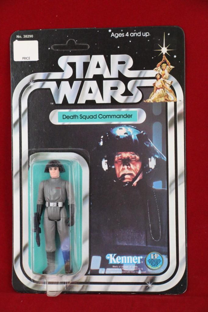 Kenner Star Wars Death Squad Commander 12 Back A Front