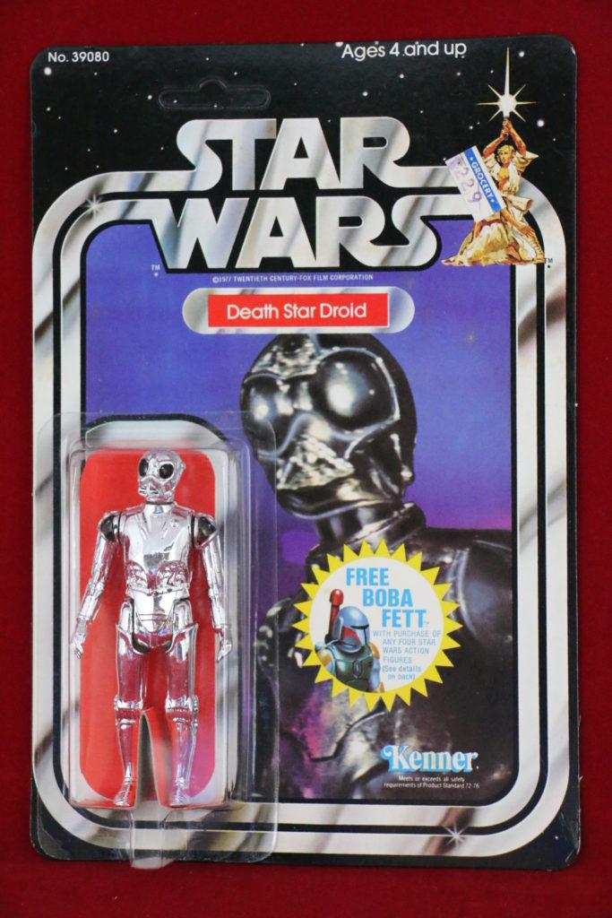 Kenner Star Wars Death Star Droid 20 Back G Front