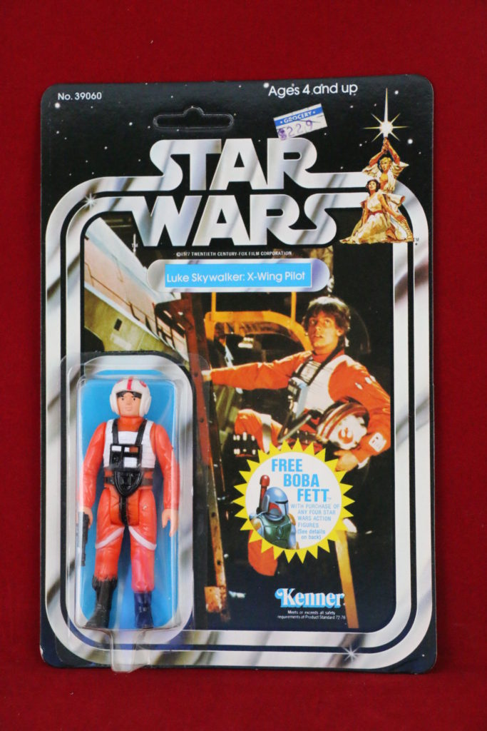 Kenner Star Wars Luke Skywalker X-Wing 20 Back G Front