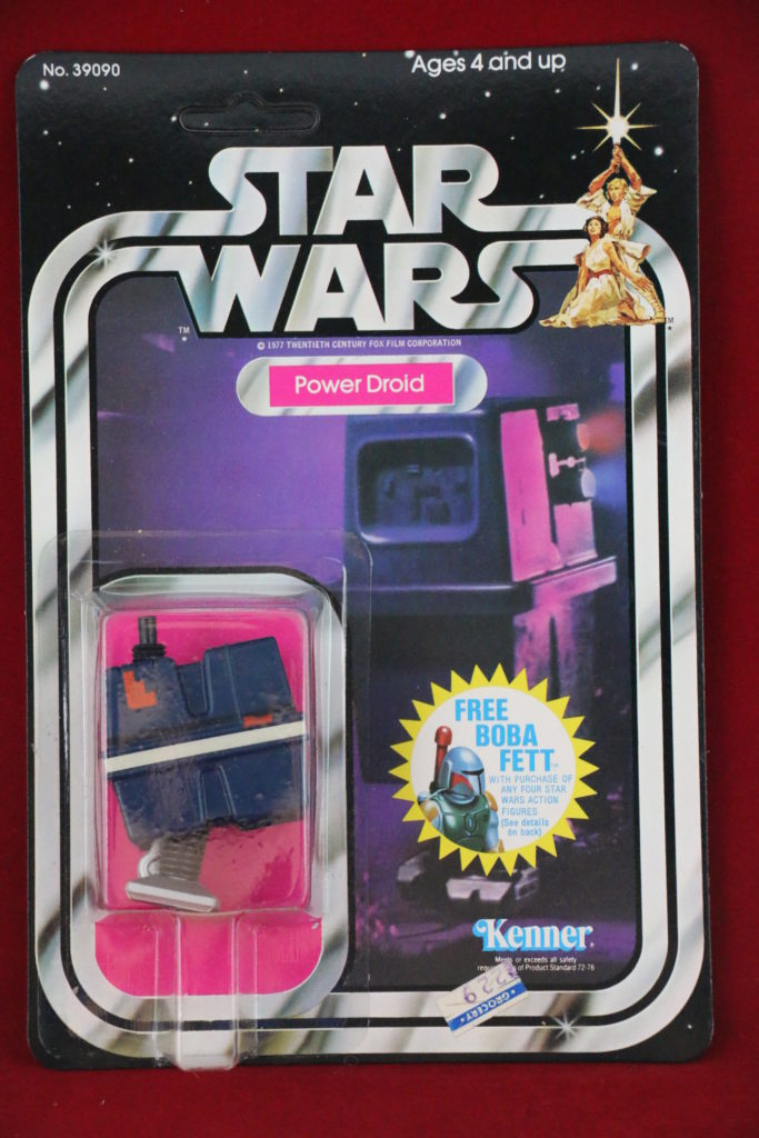 Kenner Star Wars Power Droid 20 Back G Front