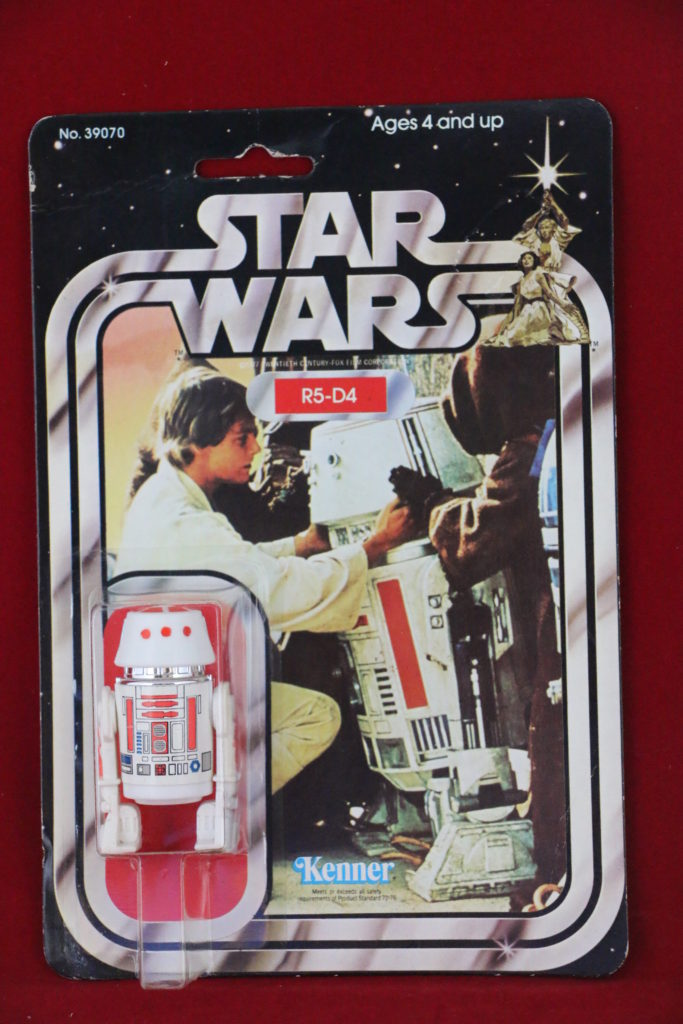 Kenner Star Wars R5-D4 21 Back A Front
