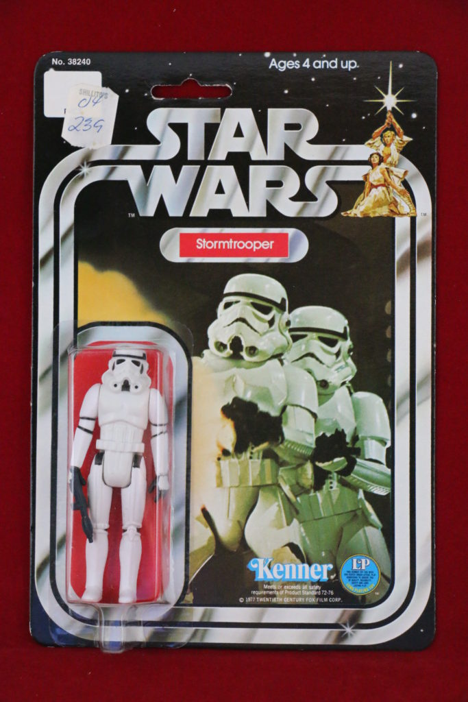 Kenner Star Wars Stormtrooper 12 Back A SKU Front
