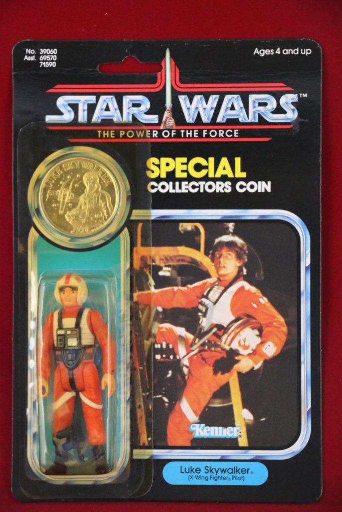 POTF Kenner Star Wars Luke Skywalker X-Wing Front