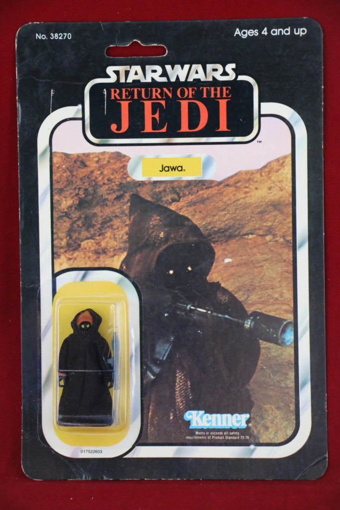 ROTJ Kenner Star Wars Jawa 65 Back A Front