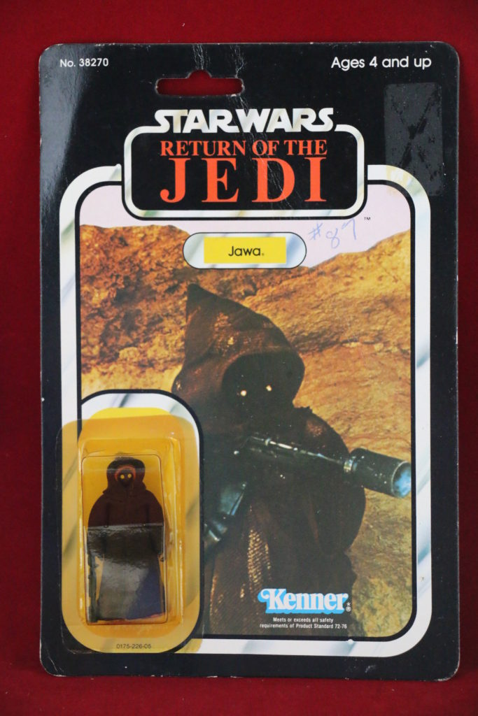 ROTJ Kenner Star Wars Jawa 77 Back A Front