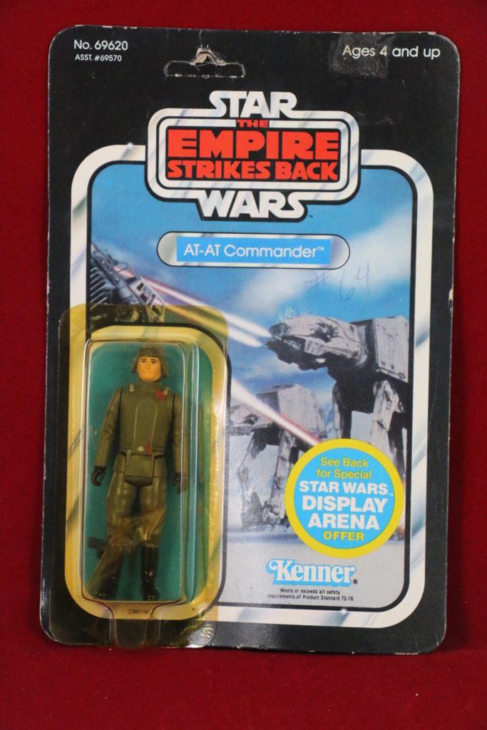 ESB Kenner Star Wars AT-AT Commander 45 Back A