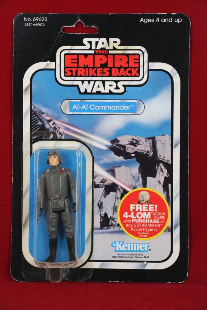ESB Kenner Star Wars AT-AT Commander 47 Back