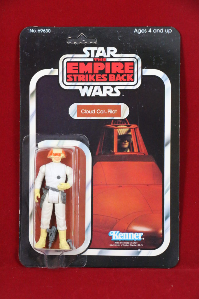 ESB Kenner Star Wars Cloud Car Pilot 48 Back A Front