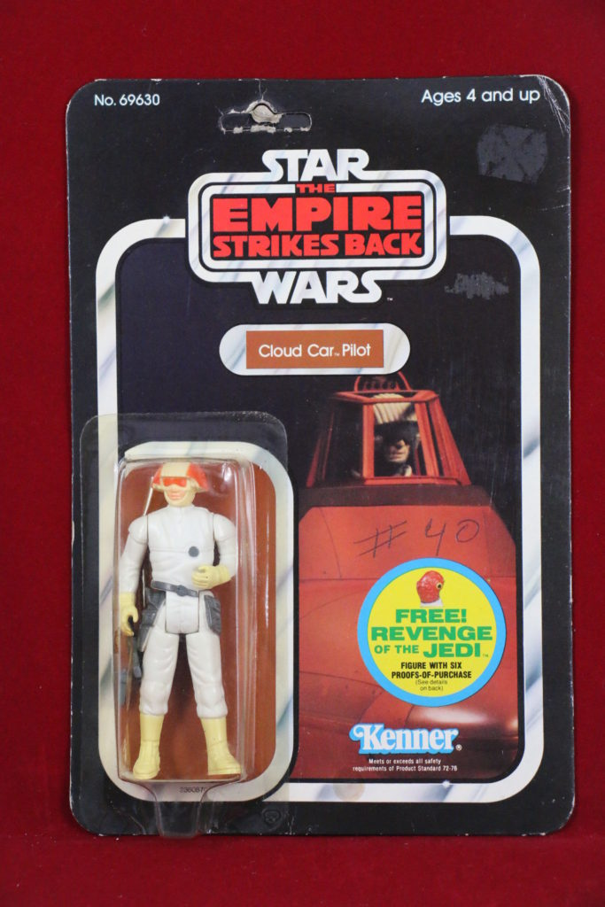 ESB Kenner Star Wars Cloud Car Pilot 48 Back C Front