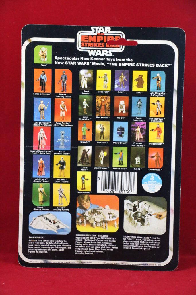 ESB Kenner Star Wars FX-7 32 Back A Back