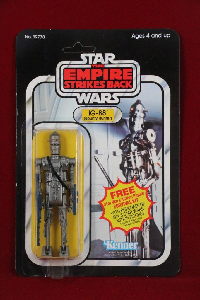ESB Kenner Star Wars IG-88 41 Back A Front
