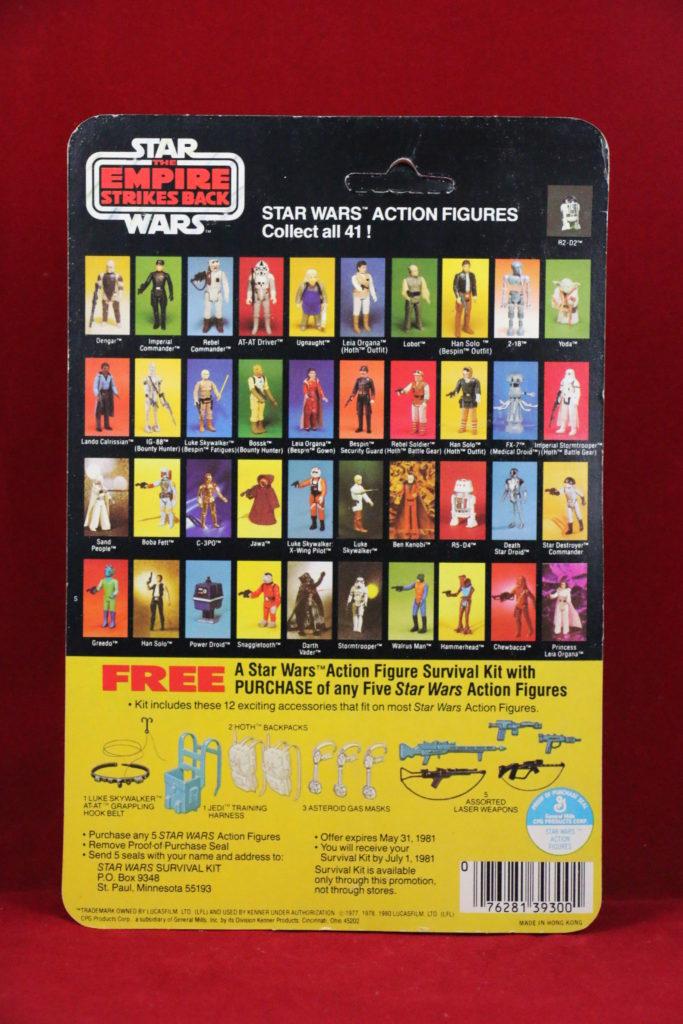 ESB Kenner Star Wars IG-88 41 Back A Back