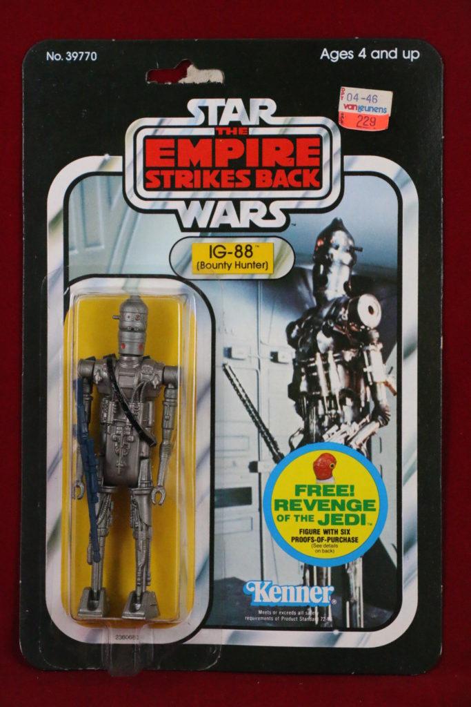 ESB Kenner Star Wars IG-88 48 Back C Front