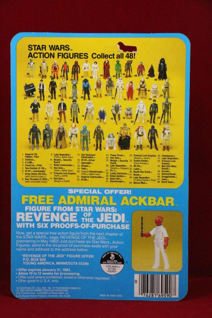 ESB Kenner Star Wars IG-88 48 Back C Back
