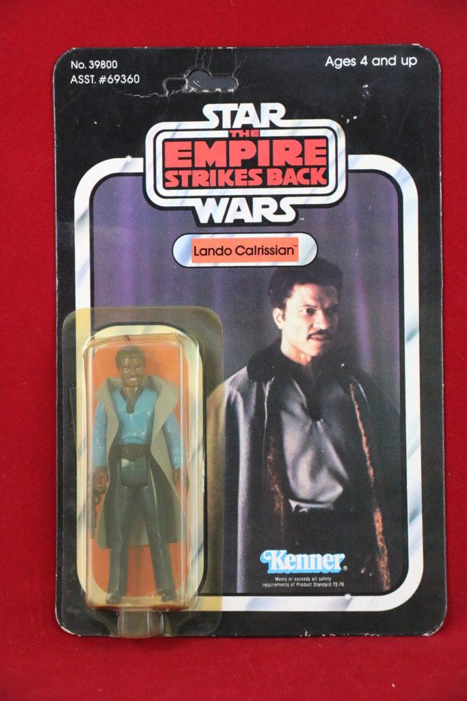 ESB Kenner Star Wars Lando 41 Back D Front