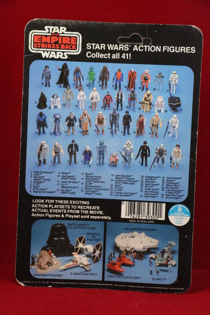 ESB Kenner Star Wars Lando 41 Back D Back