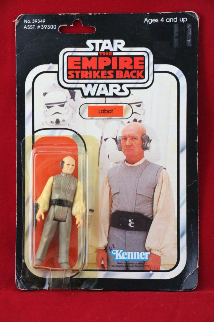 ESB Kenner Star Wars Lobot 41 Back D Front
