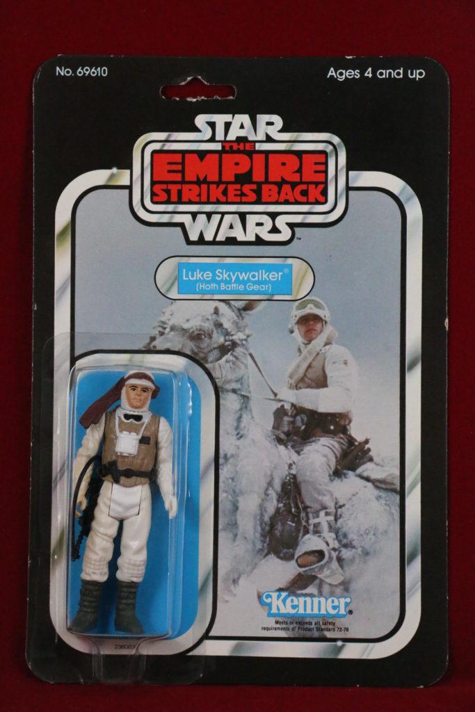 ESB Kenner Star Wars Luke Skywalker Hoth 48 Back A Front