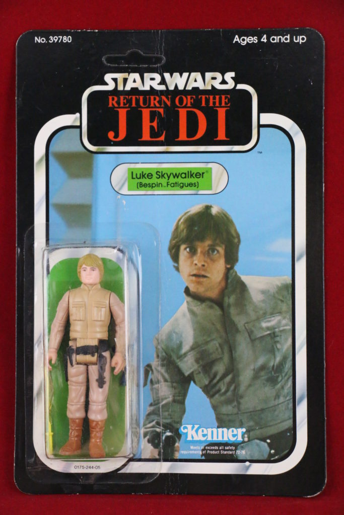 Luke Brown Hair Bespin ROTJ 77 A Front