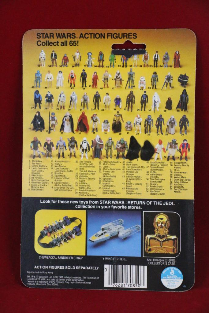 ROTJ Kenner Star Wars Klaatu 65 Back A Back