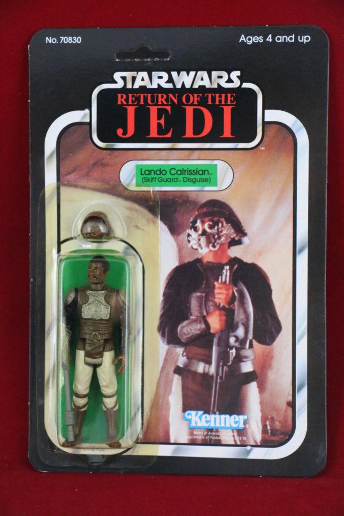 ROTJ Kenner Star Wars Lando Skiff 65 Back A Front