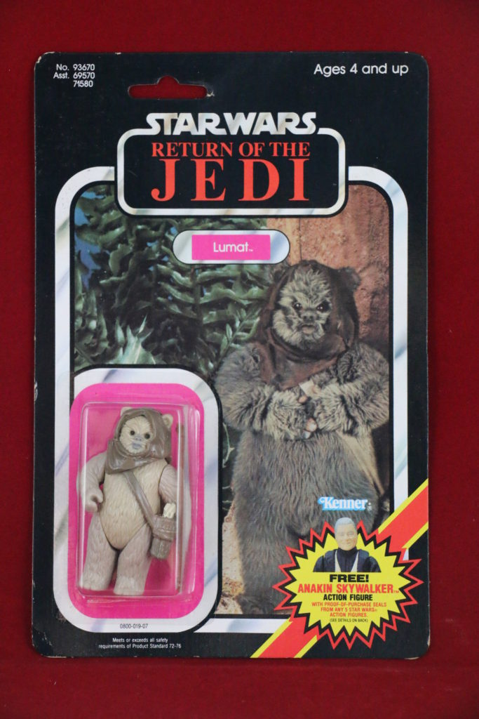 ROTJ Kenner Star Wars Lumat 79 Back C Front