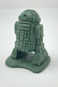 R2-D2 Micro Collection 4 Up Prototype
