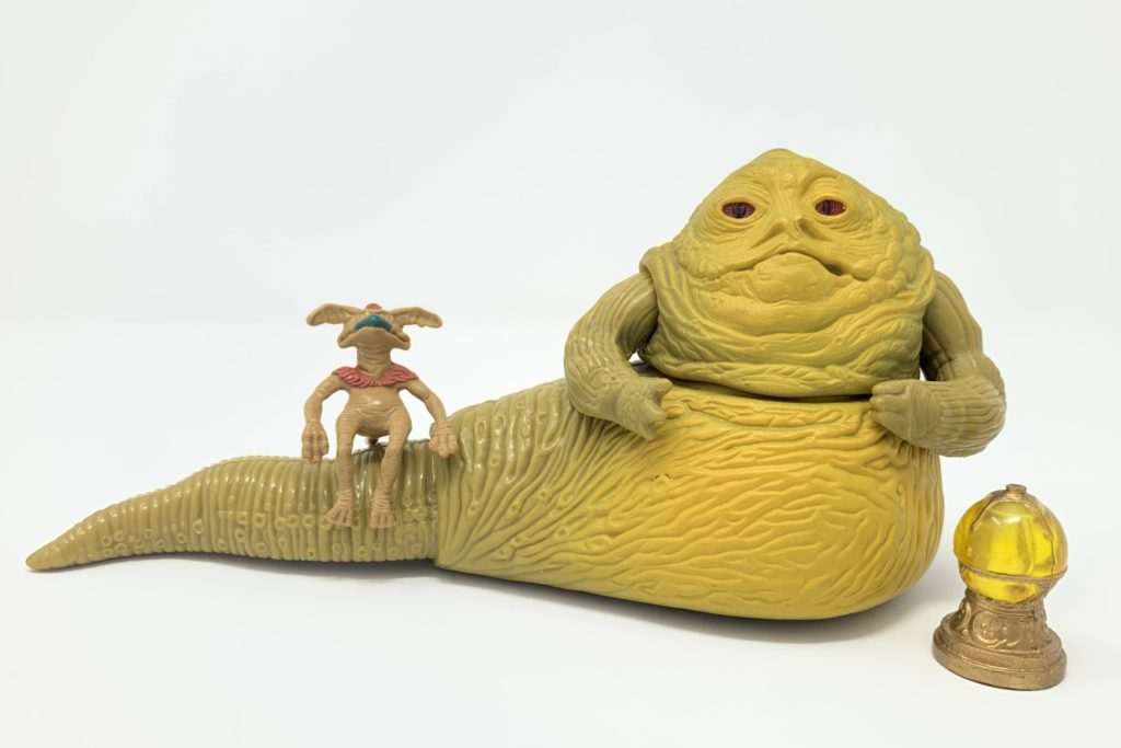 First Shot Jabba The Hutt & Salacious Crumb Prototypes