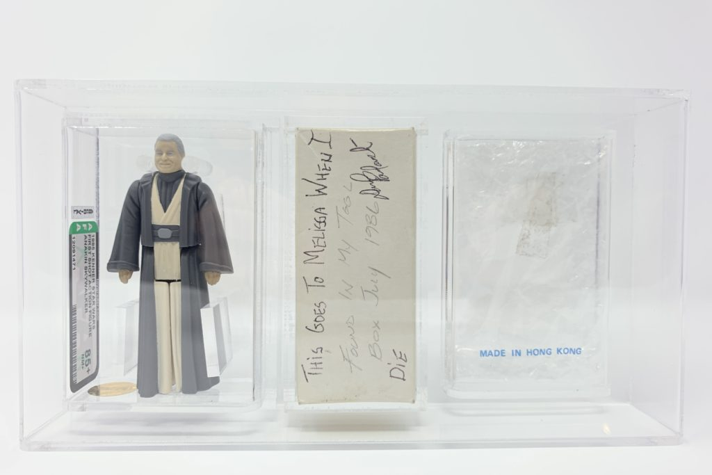 Anakin Skywalker POTF First Shot Mailer