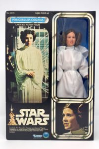 "Vintage Princess Leia 12"" Action Figure Doll 1978 1977"